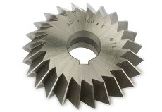 DIN 847 DOUBLE ANGLE MILLING CUTTER
