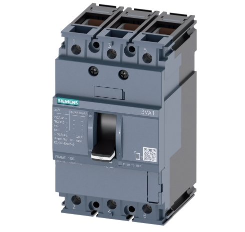 Molded Case Circuit Breaker SIEMENS 3VA
